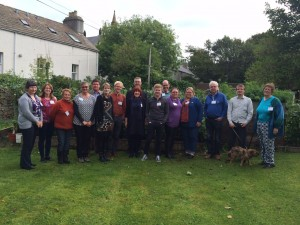 Participants of the RSH training on Orkney, 2015